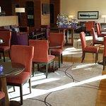 Lounge in der 24. Etage