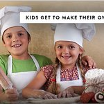 Kids Make Their Own Pizza! Come on in and try it, it's a blast!