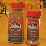 Susans Special Spice turns you into the perfect cook! $6 for 1 $10 for 2 for 5oz .$15 for 16oz