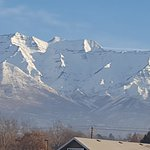 The Wasatch Mountains in Provo