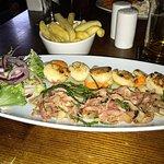 scallops, pancetta and samphire