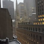 Snowy St Patrick's Cathedral