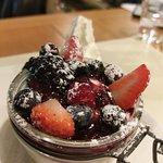 Cheesecake con i frutti di bosco