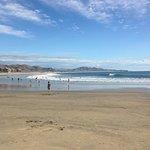 Los Cerritos at low tide