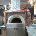 the traditional custom made oven - no conveyor belts here!