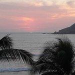 una puesta del sol maravillosa!!