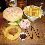The fabulous Old Thatch burger