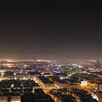 Blick auf das nächtliche Dubai