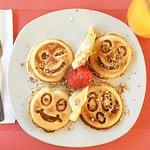 emoji pancakes!