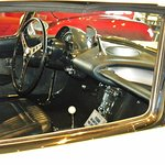 56 Corvette interior