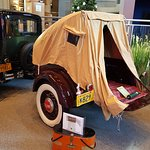 early camping trailer