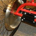 electric car drive wheel