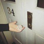 Room 34 - Door knob constantly broke off