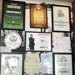 various certificates