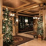 Lobby area - Christmas decorations