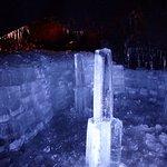 洞穴內冰柱