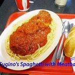 Cugino's Spaghetti with Meatballs