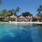 beautiful resort pool.