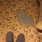 This is the carpet at the room we stayed in. Not a good representation of JW Marriott