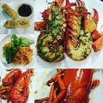 Yummy Maine Lobster at the Corner Sri Bumphen Bangkok