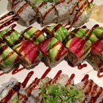Hinoki Roll & Shrimp Tempura Roll Platter