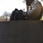 backside of memorial