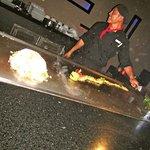 El Chef Pedro Chi y su espectáculo de sabor!