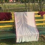 optimum utilization of the outdoor bench
