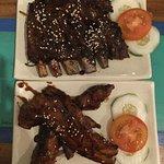 Pork ribs and pork belly ribs