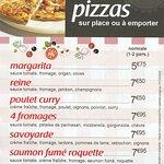Excellente pizza reine