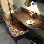 Small table in the room
