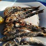 Espeto de sardinas (esta vez eran pequeñas)