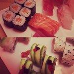 Sushi and sashimi <3