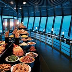 Come and enjoy the delicious food and the stunning views from Macau's highest restaurant.