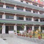 Hotel is beautifully decorated and manifest tibetan monastic structure