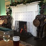 Relaxing in the lounge by the lovely fire