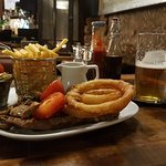 Steak and ale combination