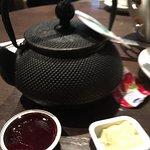 Bircher Muesli hot chocolate and continental breakfast