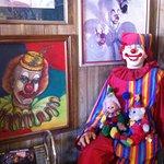 Office area of the Clown Motel in Tonopah, Nevada