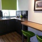 Kitchen in the Duchess Suite