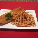 Grouper.  Served fried, blackened or broiled.  Delicious!