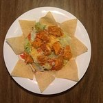Buffalo Chicken Salad comes with grilled or fried chicken.  An all time favorite!