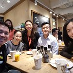 My friends from Thailand, Singapore and The Philippines