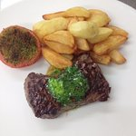 Lunch Special, Rump Steak Frites