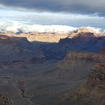 Partway down the Kaibab trail
