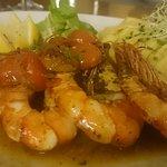 my freind had the gambon (shrimp)