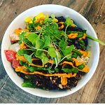 A Mexican inspired rice bowl - Baja Bowl!