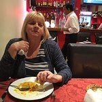 Very nice Indian the chicken korma was delightful full Of loverly coconut sauce . Excellent  pol