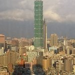 Magnificent view of Taipei 101 from the room