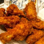 Our Hot buffalo wings are superb!!